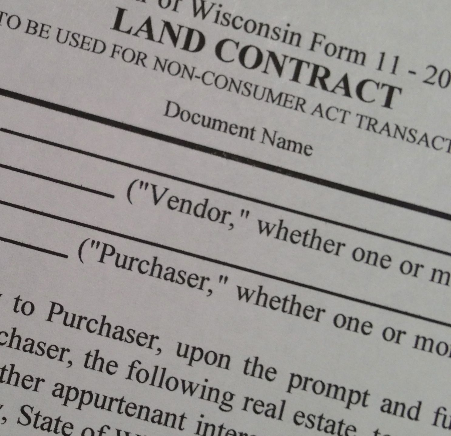 land contract united states form law depot images