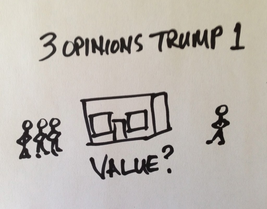 3 opinions trump 1