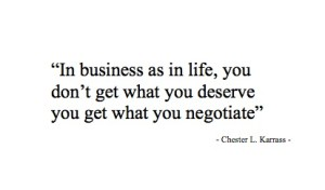 negotiation quote